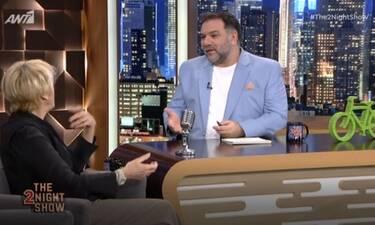 The 2Night Show: Η ατάκα της Καίτης Κωνσταντίνου στον Αρναούτογλου που τον άφησε άφωνο!