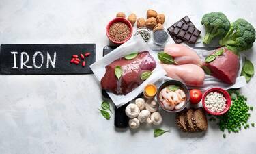 Τροφές με σίδηρο: Ποιους συνδυασμούς πρέπει να αποφεύγετε (εικόνες)