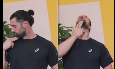 Μιχάλης Χατζαντωνάς: Ο σύζυγος της Ζέτας Δούκα μας δείχνει εύκολες ασκήσεις γυμναστικής
