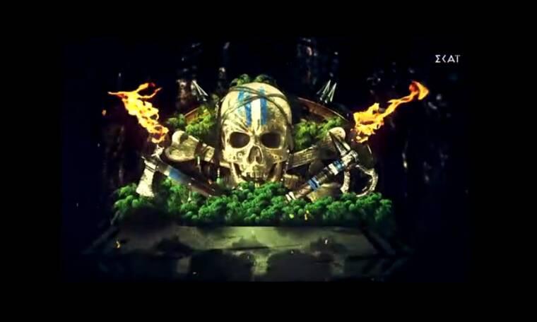 Survivor exclusive: O... Ταρζάν Τριαντάφυλλος και το τραγούδι του Κοψιδά για τις καρύδες!