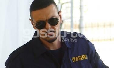 Αποκλειστικό: Νίκος Βουρλιώτης: Δεν πάει ο νους σας γιατί ντύθηκε... αστυνομικός!