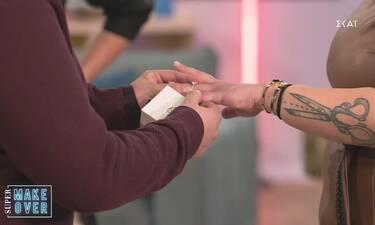 Super Makeover: Πρόταση γάμου στην εκπομπή της Νομικού - Συγκινημένη η παρουσιάστρια