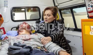Αγγελική: Αποκλειστικές φωτό: Ο Δημήτρης τραυματισμένος θανάσιμα παλεύει για τη ζωή του