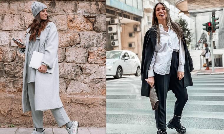 Μπόμπα-Οικονομάκου: Ποια είναι η πιο stylish εγκυμονούσα; Τα outfits που ξεχώρισαν