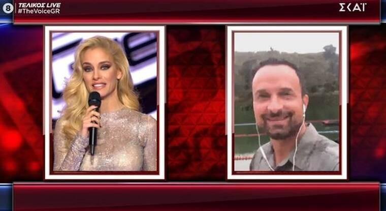 The Voice τελικός: Ο Λιανός εμφανίστηκε στο live και ο Ρουβάς ζήτησε spoiler για το Survivor
