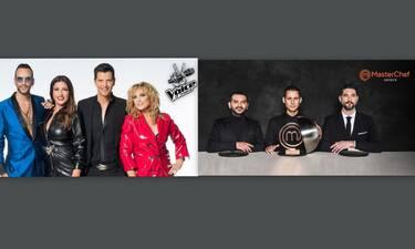 Τηλεθέαση: MasterChef VS The Voice τελικός: Τι προτίμησαν οι τηλεθεατές;