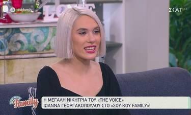 Ιωάννα Γεωργακοπούλου: Η νικήτρια του Voice αποκαλύπτει: «Συγκινούμαι να μιλώ για την Παπαρίζου»