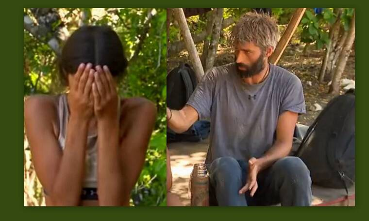 Survivor: Ο Παππάς «ξεσκεπάζει» το ειδύλλιο - Η Άννα Μαρία ξεσπά σε λυγμούς