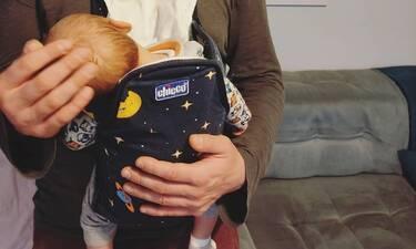Γνωστός Έλληνας ηθοποιός πόσταρε την πρώτη φωτογραφία με τον νεογέννητο γιο του