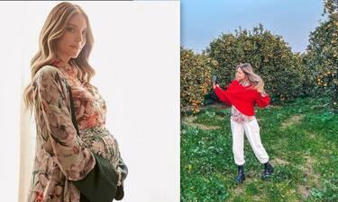 Οικονομάκου: Οι δυσκολίες τους πρώτους μήνες της εγκυμοσύνης της και το photoshop στην κοιλιά της