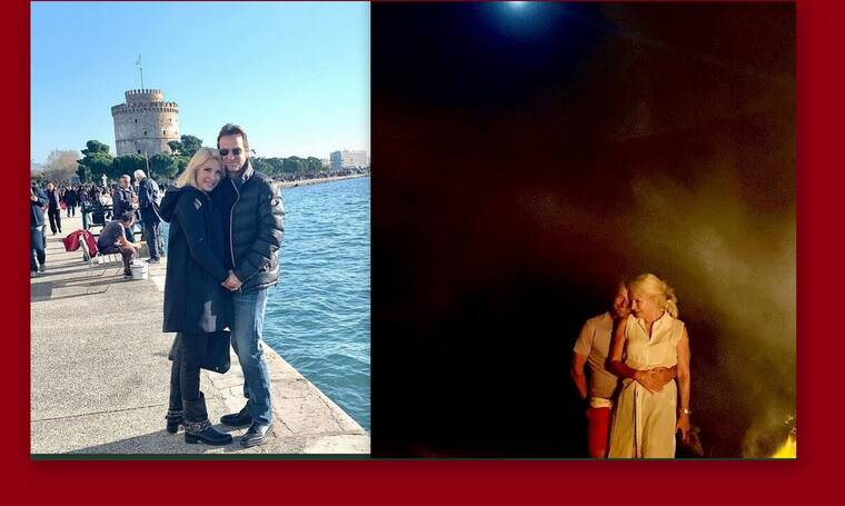 Ελένη Μενεγάκη: Γιορτάζει τον έρωτα με τον Μάκη της και θα τα χάσεις με τη νέα φώτο της