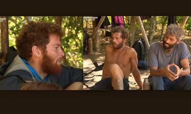 Survivor: Ο James αρνήθηκε να δώσει μερίδιο από το φαγητό του στους τιμωρημένους Αλέξη και Chris