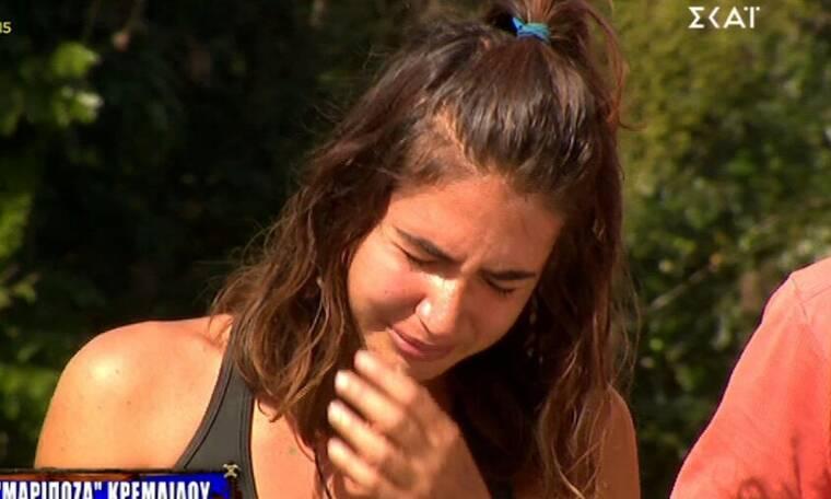 Survivor: Η Έλενα Μαριπόζα επέστρεψε με κλάματα στα μάτια! Εξουθενωμένη δεν μπορούσε να περπατήσει