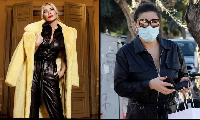 Καινούργιου – Παπαρίζου: Με δερμάτινη ολόσωμη φόρμα! Ποια τη φόρεσε καλύτερα;