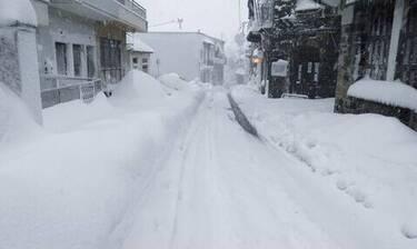 Κακοκαιρία «Μήδεια»: Τρεις οι νεκροί από τον χιονιά - Δύο στην Εύβοια, ένας στην Κρήτη