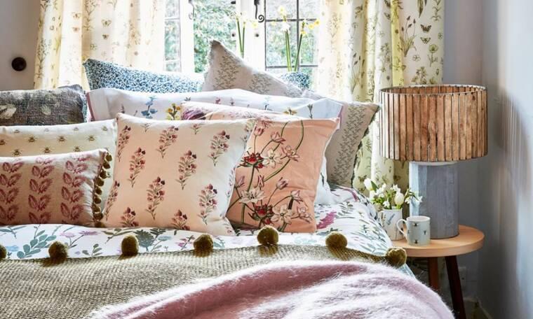 5 tips διακόσμησης για ένα υπνοδωμάτιο που αποπνέει θετική ενέργεια