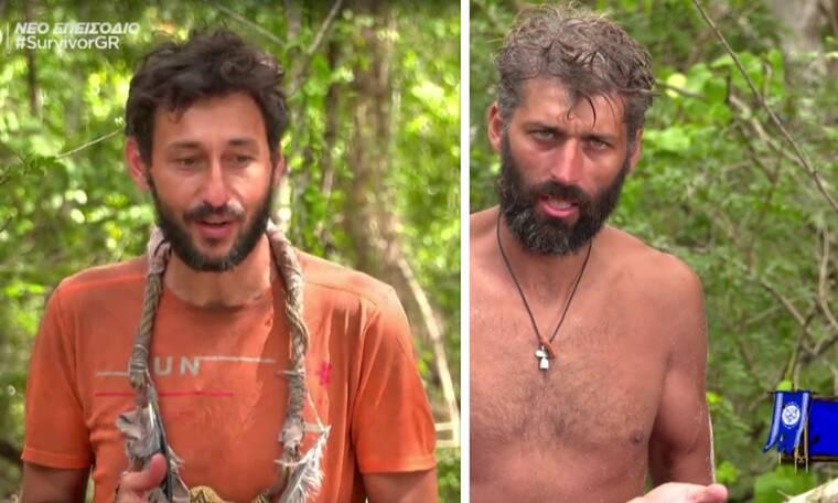 Survivor: Εκτός εαυτού ο Καλίδης με τον Παππά: «Τα παπατζιλίκια σου αλλού»
