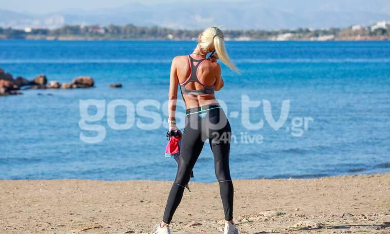 Survivor: Δεν πρόλαβε να επιστρέψει στην Ελλάδα και ξεκίνησε τη γυμναστική