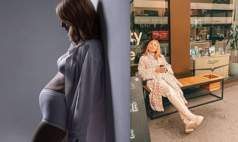 Μαρία Ηλιάκη: Οι βόλτες της εγκυμονούσας στη Ζυρίχη - Η ατάκα για το μονόπετρο