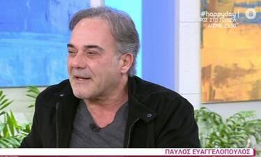 Συγκινεί ο Παύλος Ευαγγελόπουλος: «Το σιχάθηκε ο οργανισμός μου! Μου είπε «φτάνει πια»»!