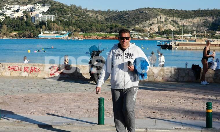 Γιώργος Λιάγκας: Η αγαπημένη του συνήθεια, χειμώνα - καλοκαίρι! Δες πού τον «τσακώσαμε»