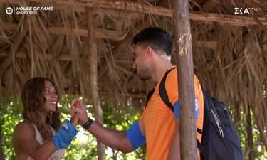 Survivor: Οι νέοι παίκτες μπήκαν στο παιχνίδι - Η στιγμή που η Μαριαλένα συναντά τον πρώην της