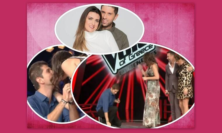 Battle of the Couples: Κρίστη- Κώστας: Δείτε τους όταν της έκανε πρόταση γάμου στο The Voice