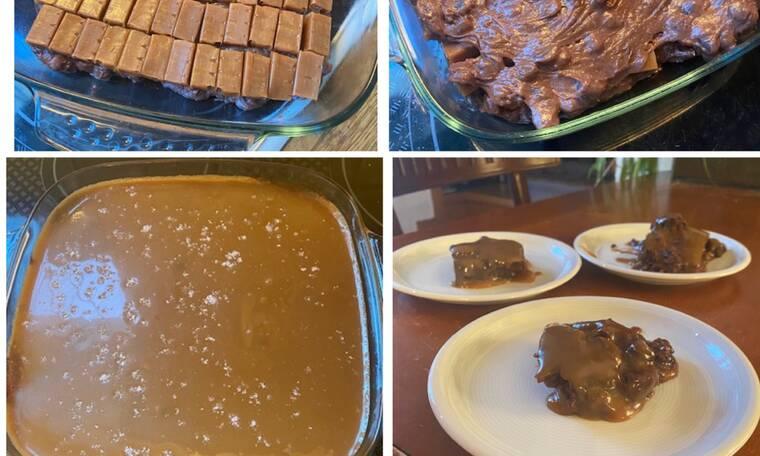 Συνταγή για τα απόλυτα Salted Caramel Brownies (Γράφει αποκλειστικά στο Queen η Majenco)