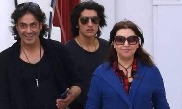Καίτη Γαρμπή - Διονύσης Σχοινάς: Καμαρώνουν για το νέο τραγούδι του γιου τους