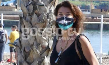 Μαρίνα Βερνίκου: Η βόλτα στην Βουλιαγμένη και οι φωτογραφίες με το drone!
