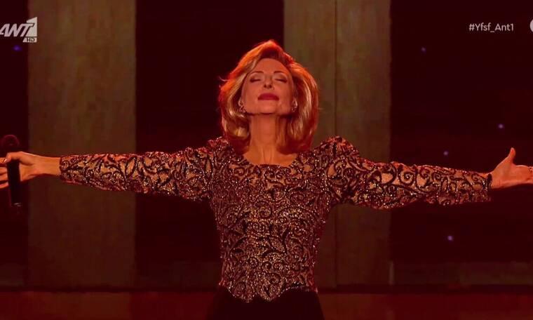 YFSF All Star: Συγκίνηση και δάκρυα με την Ματθίλδη Μαγγίρα ως Βίκυ Μοσχολιού