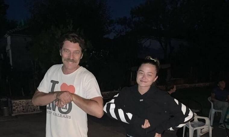 Eurovision 2021: Ο Γιάννης Στάνκογλου ποζάρει με την ανιψιά του Στεφανία Λυμπερακάκη