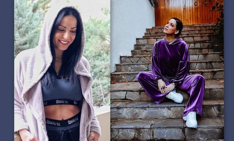 Ιωάννα Πηλιχού: Μια ντουλάπα γεμάτη υπέροχα homewear – Τα ωραιότερα σε όλο το Instagram