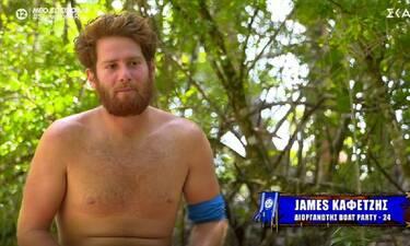 Survivor: James Καφετζής: «Ο Σάκης έχει ακόμα αισθήματα για την Μαριαλένα. Ζηλεύω λίγο»!