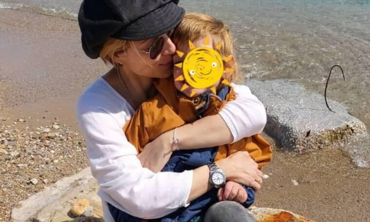 Ευδοκία Ρουμελιώτη: Η υπέροχη φωτογραφία του γιου της, Δημήτρη