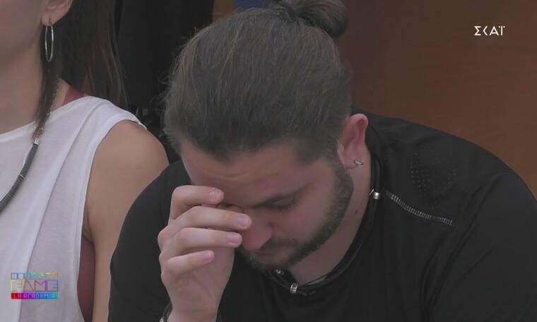 House of Fame: Ξέσπασε σε κλάματα μόλις θυμήθηκε την πρώην του - «Είχαμε τρία χρόνια σχέση»