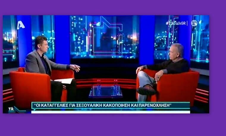Ανδρέας Μικρούτσικος: «Με έχουν κατηγορήσει για βιασμό και έχω φάει μηνύσεις για εξύβριση»