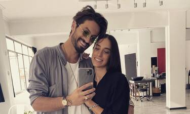 Καράβας: Η σύζυγός του γιόρτασε τα γενέθλιά της και αποκαλύφθηκε η διαφορά ηλικίας τους