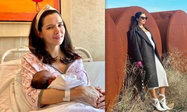 Τζώρτζια Βαϊνά: Οι φώτο με το μωρό της, οι δυσκολίες της εγκυμοσύνης και τα κιλά!