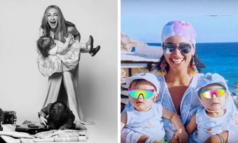 Ποιες γνωστές Ελληνίδες μαμάδες έχουν δίδυμα (pics)