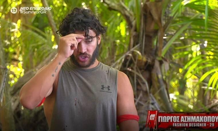 Survivor: Η επική στιγμή που ο Ασημακόπουλος έκανε τον σταυρό του επειδή έφυγε η Σαλαγκούδη