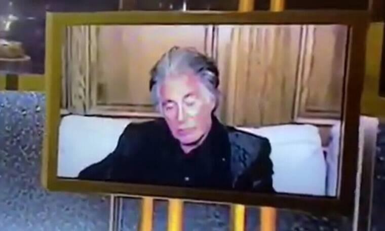 Χρυσές Σφαίρες 2021: Επικός Αλ Πατσίνο, τον πήρε ο ύπνος στην Τελετή!