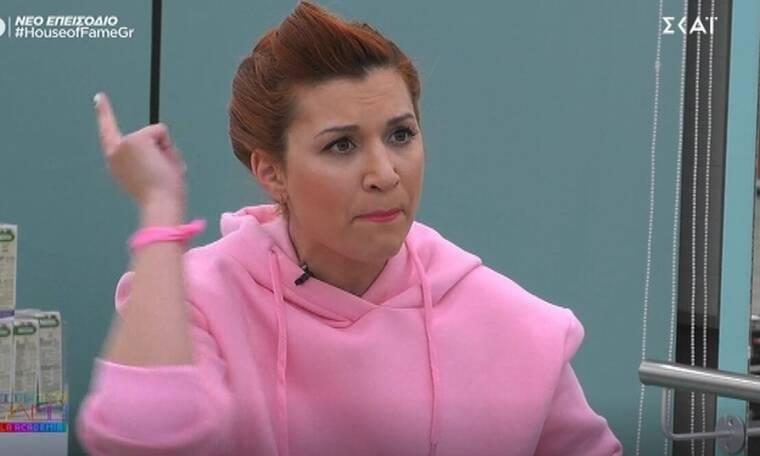 House of Fame: Εκτός εαυτού η Μπαλτατζή: «Έχω φρικάρει, με βγάλατε έξω από τα ρούχα μου»