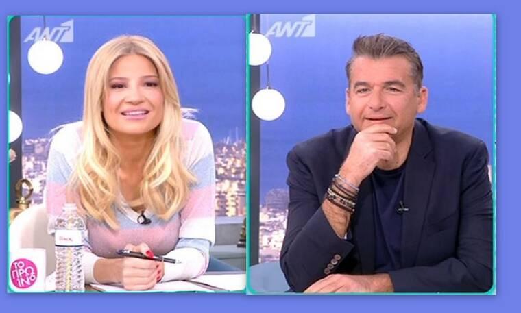 Το πρωινό: Η λέξη που ξέφυγε στον Λιάγκα on air και η αμηχανία της Σκορδά!