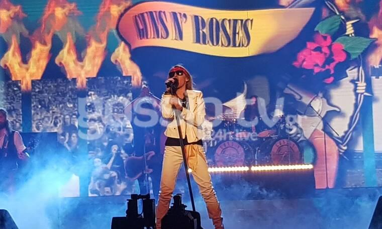 YFSF All Star: Κι όμως η γλυκιά Τάνια Μπρεάζου ρόκαρε ως Axl Rose