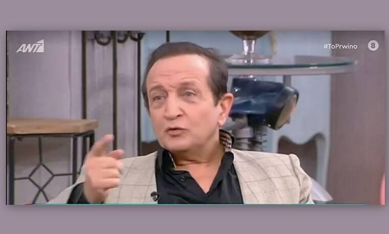 Μπιμπίλας για Λιγνάδη: «Τον σκέφτηκα που ήταν μόνος σε ένα κελί»!