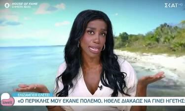 Survivor: Απασφάλισε η Ελέτσι: «Τα περισσότερα ψέματα τα έλεγε ο Περικλής, μου έκανε πόλεμο»