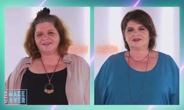 Super Makeover: Η τεράστια αλλαγή στην Ελπίδα που την άφησε άφωνη!
