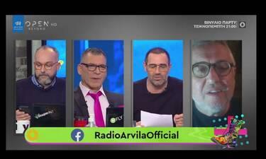 Ράδιο Αρβύλα: Με κορονοϊό ο Στάθης Παναγιωτόπουλος - Όλα τα νεότερα για την υγεία του