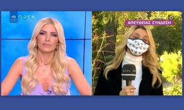 Ευτυχείτε: Η επική γκάφα ρεπόρτερ και η αντίδραση της Καινούργιου on air!